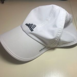 Adidas Adizero Fitted Running Cap white size L/XL